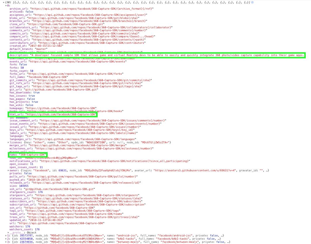codesnippet-github-api-response-object